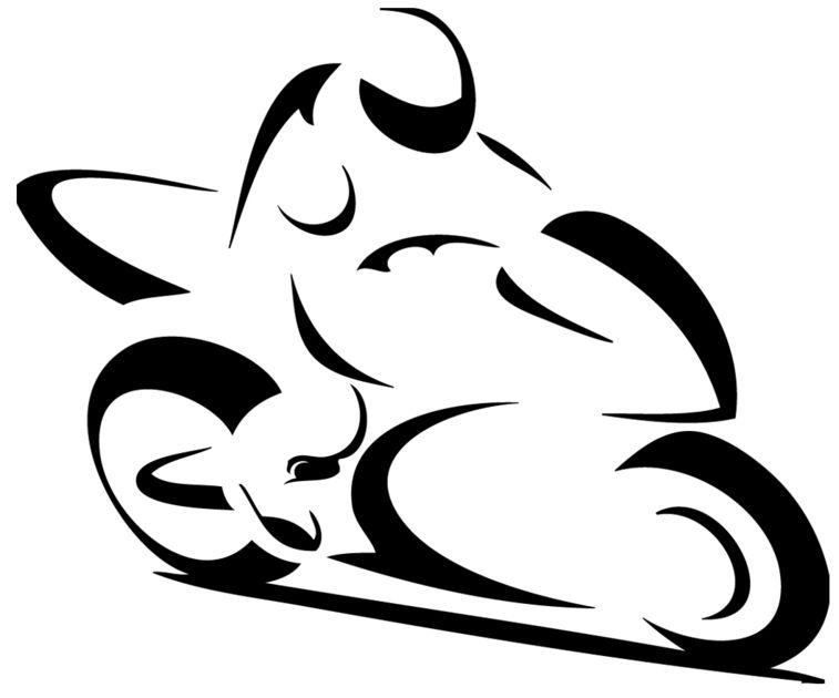 Stickers motard moto stylis sport moto destock - Dessin moto sportive ...