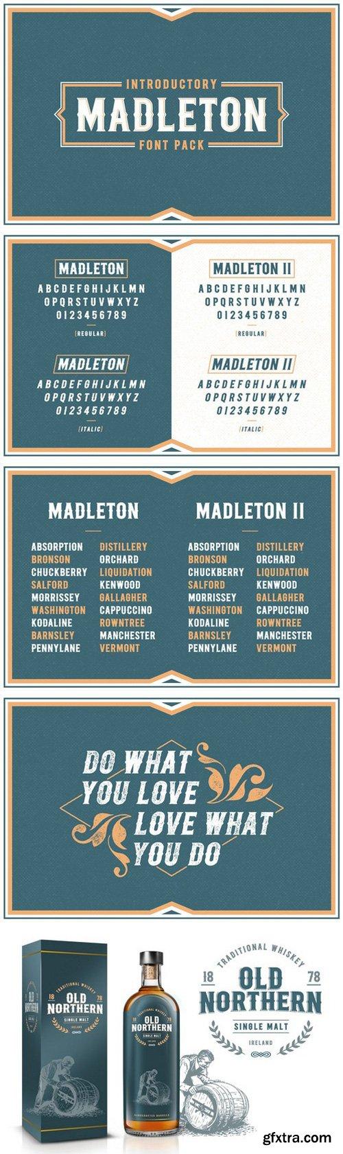 Download CM - Madleton Font Pack - Free | Font packs, Retro ...