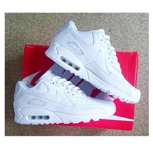 Nike Air Max 90 Womens Mens Shoes Hyperfuse All White,Discount shoes