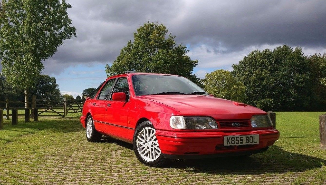This Ford Sierra Gt 2 9 V6 Supercharged Cosworth Engine Long Mot