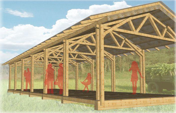 M dulos estructuras ligeras de madera modulos ligeros y madera - Modulos de madera ...
