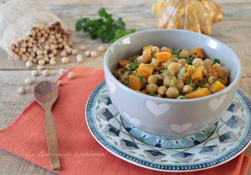 Zuppa di ceci e zucca una calda e confortante coccola - La cucina di loredana ...