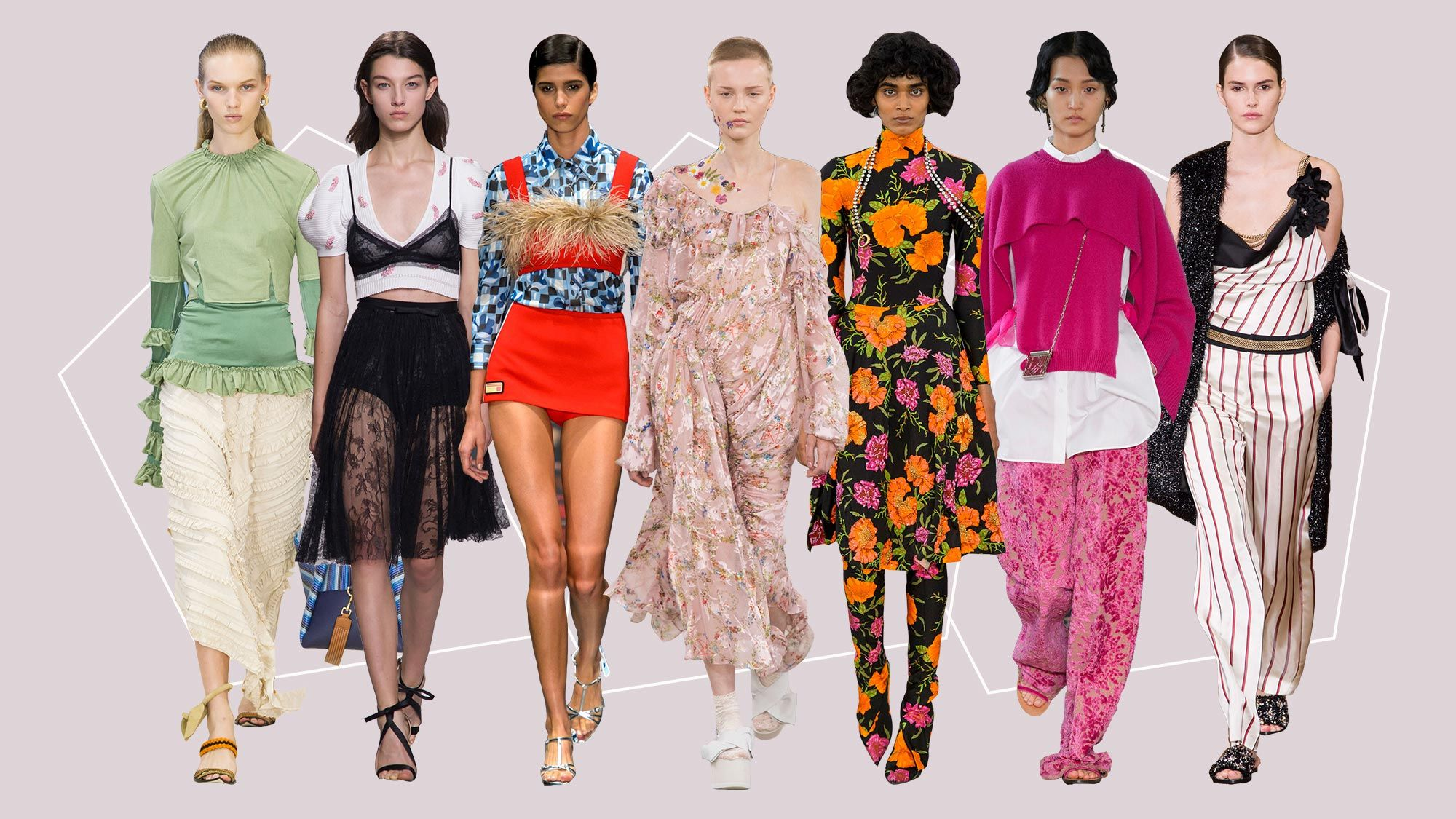 SS17 Fashion Trend Report: The Best Women's Fashion Trends ...