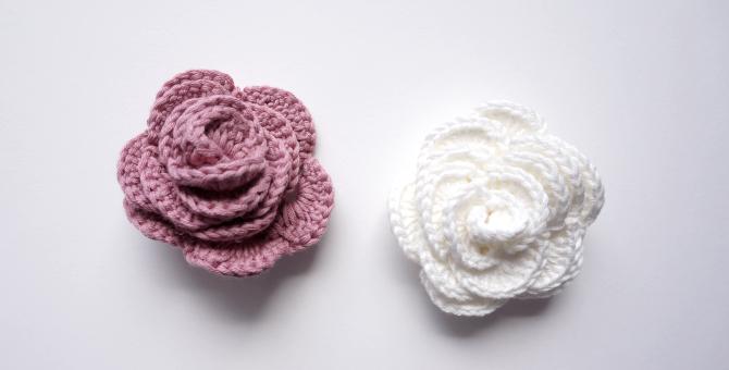 Top Petite Maille | Le crochet c'est pas ringard !: Des roses au  NE92