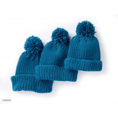 Stitch Hats For The Whole Family With This Easy Ribbed Knit Hat