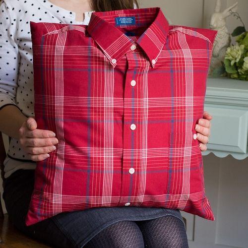 Memory Shirt Pillow — Memories Held