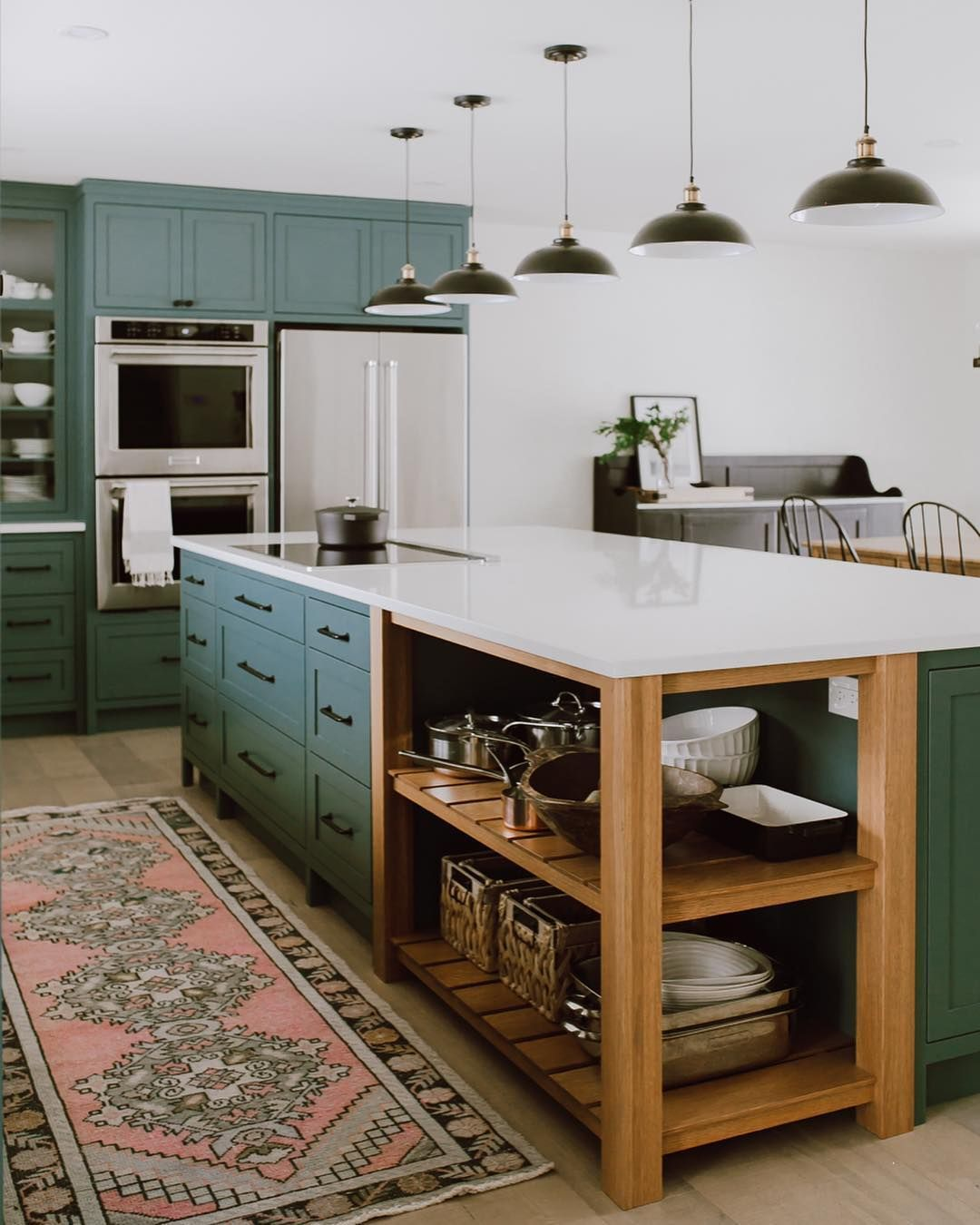 White Kitchens Have Their Place But These Might Just Be Better New Kitchen Cabinets Kitchen Style Kitchen Design