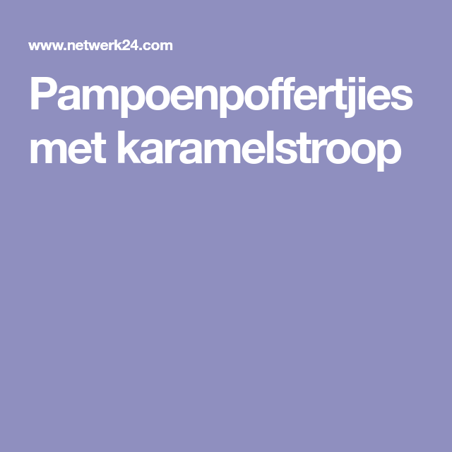 karamelstroop