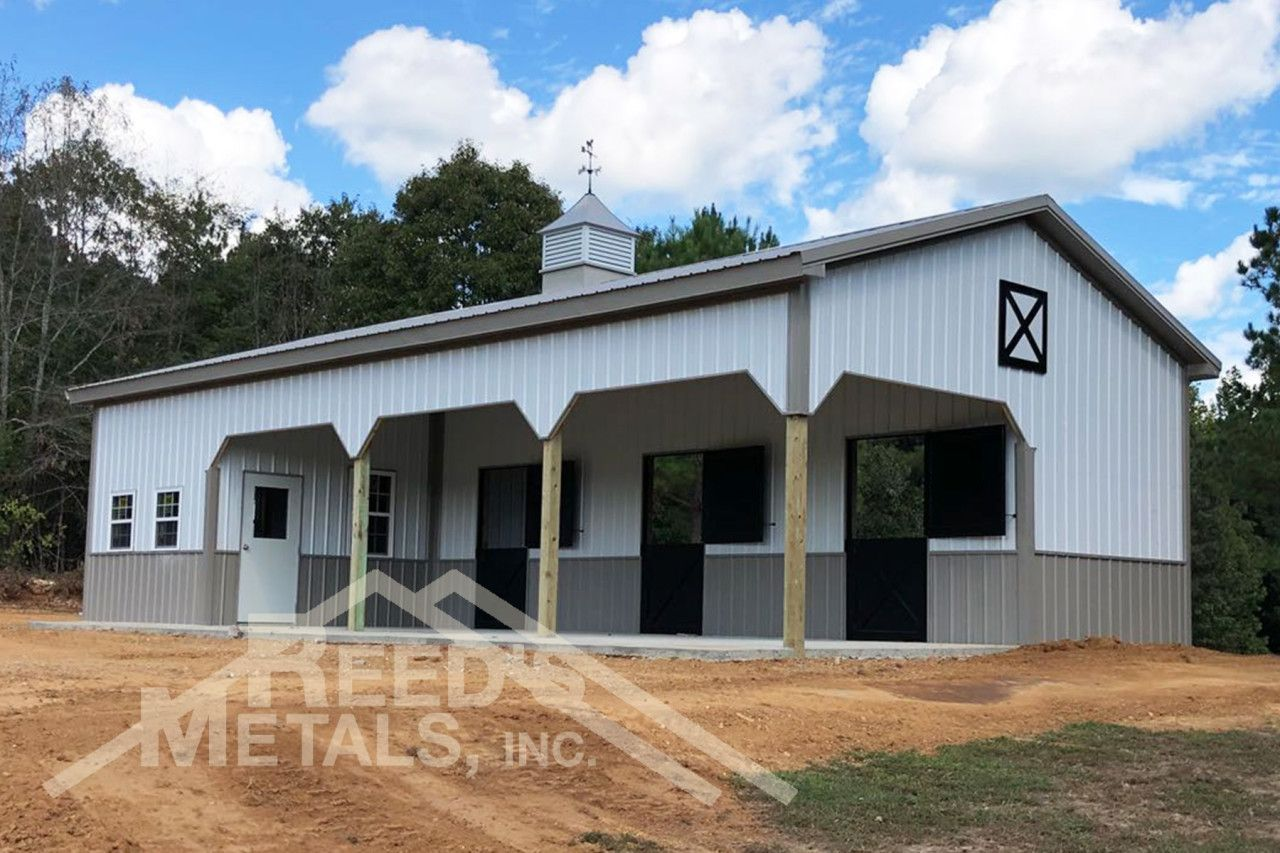 Who knew a pole barn could look so custom? We did! Let us