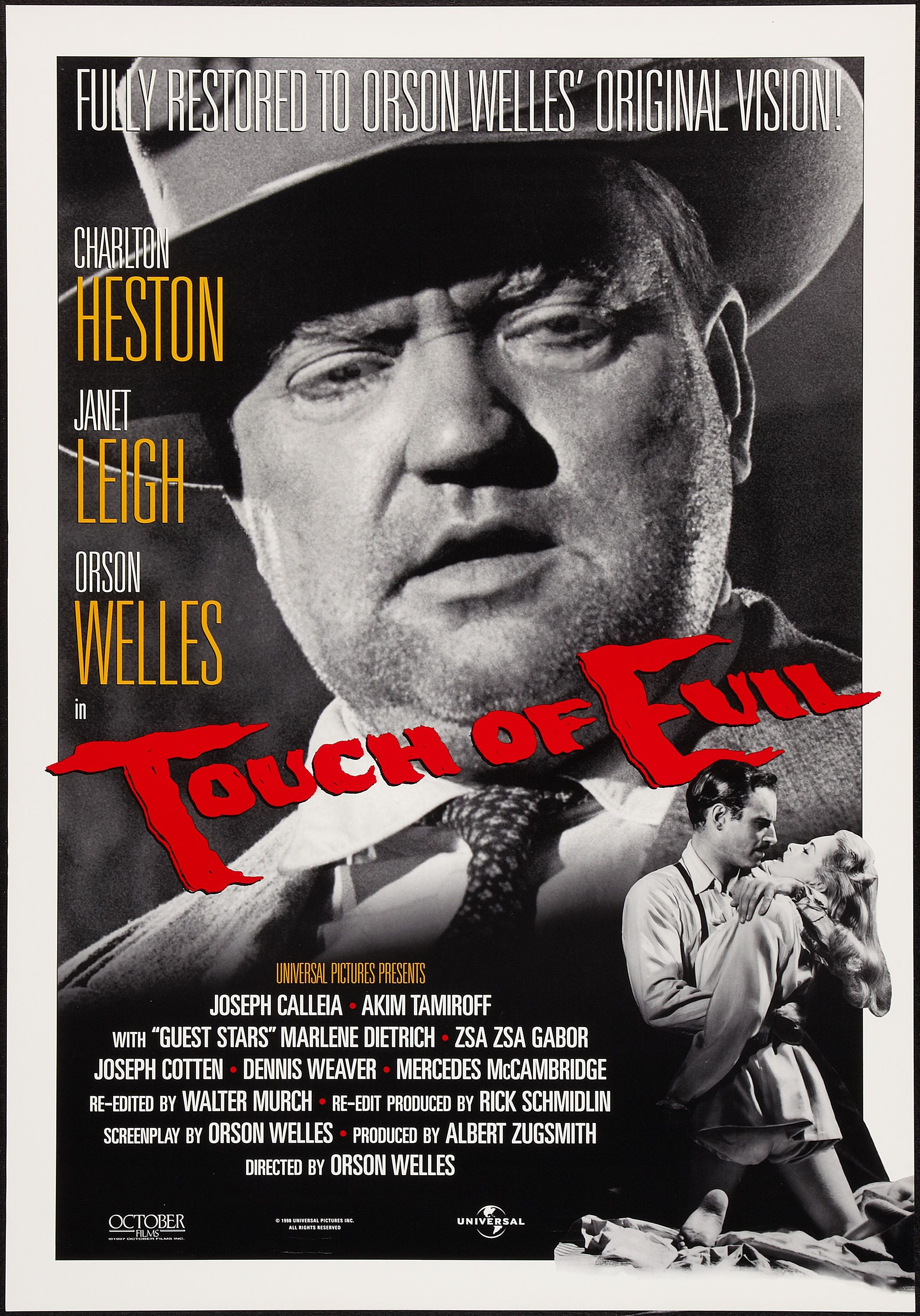 Touch Of Evil With Images Film Noir Movie Posters Film Movie