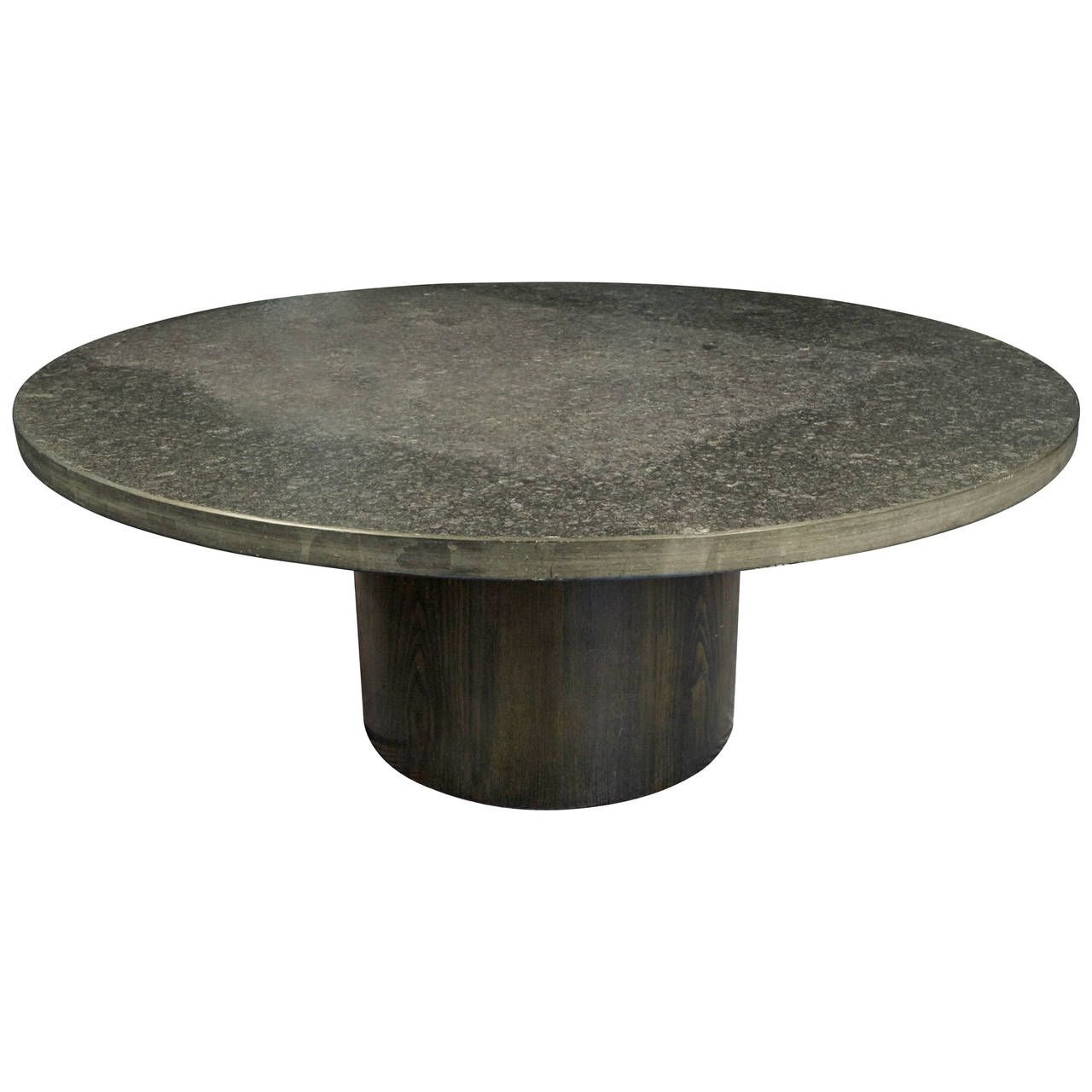 1970s Grey Slate Stone Coffee Table By Draenert Studios From A Unique Collection Of Antique And Modern Coffee And Stone Coffee Table Slate Stone Coffee Table