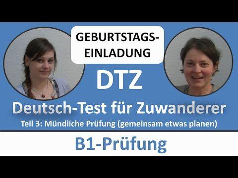 Deutsch Lernen B1 Prüfung Dtz Mündliche Prüfung