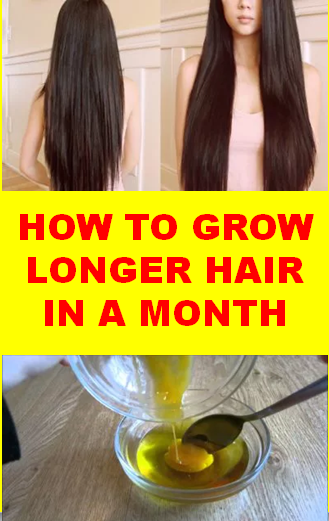 How To Grow Longer Hair In A Month Top 5 Diy Home