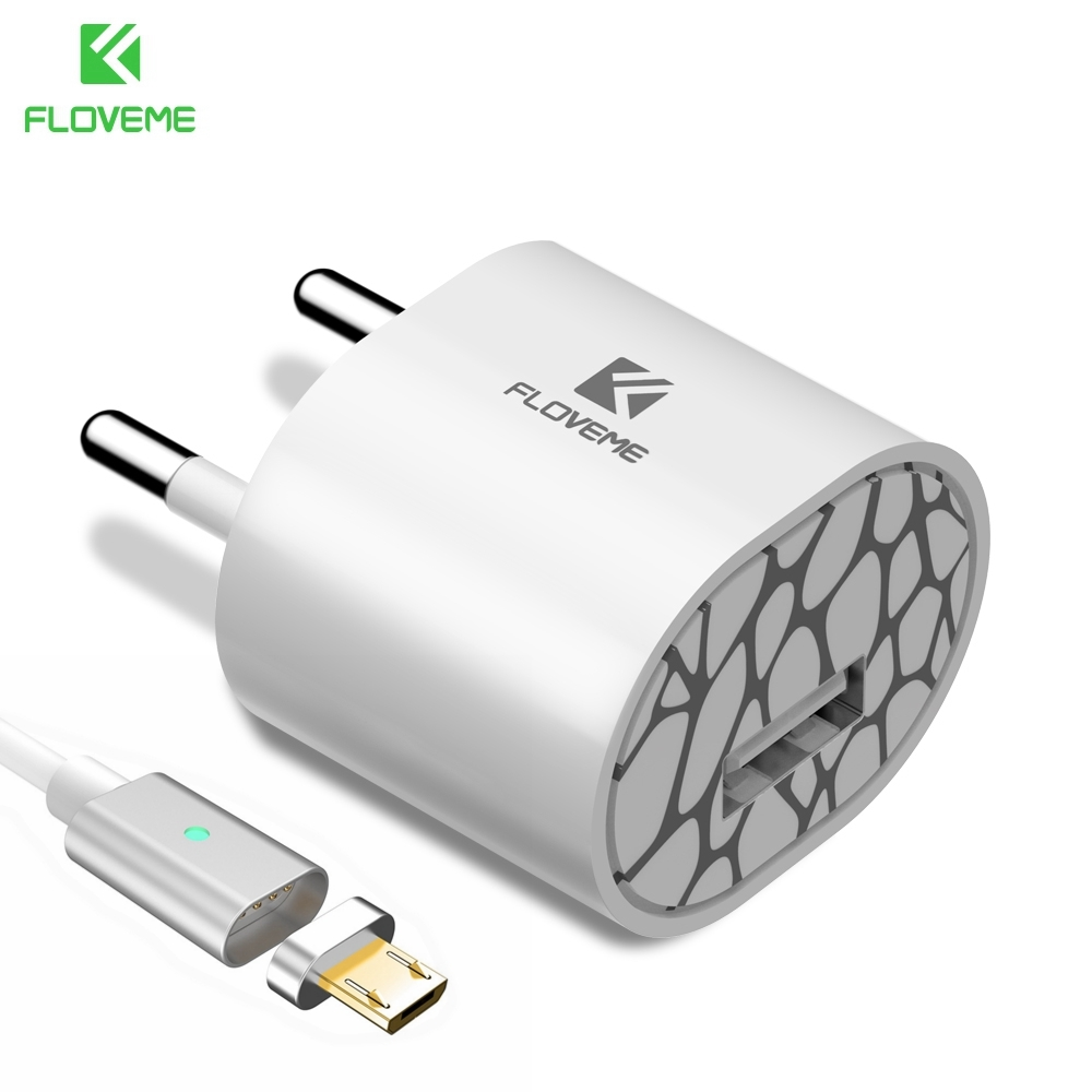 Watch More Here Magnetic Charge Cable Micro USB Data Cable - Clever magnetic wall clock charges phone wirelessly
