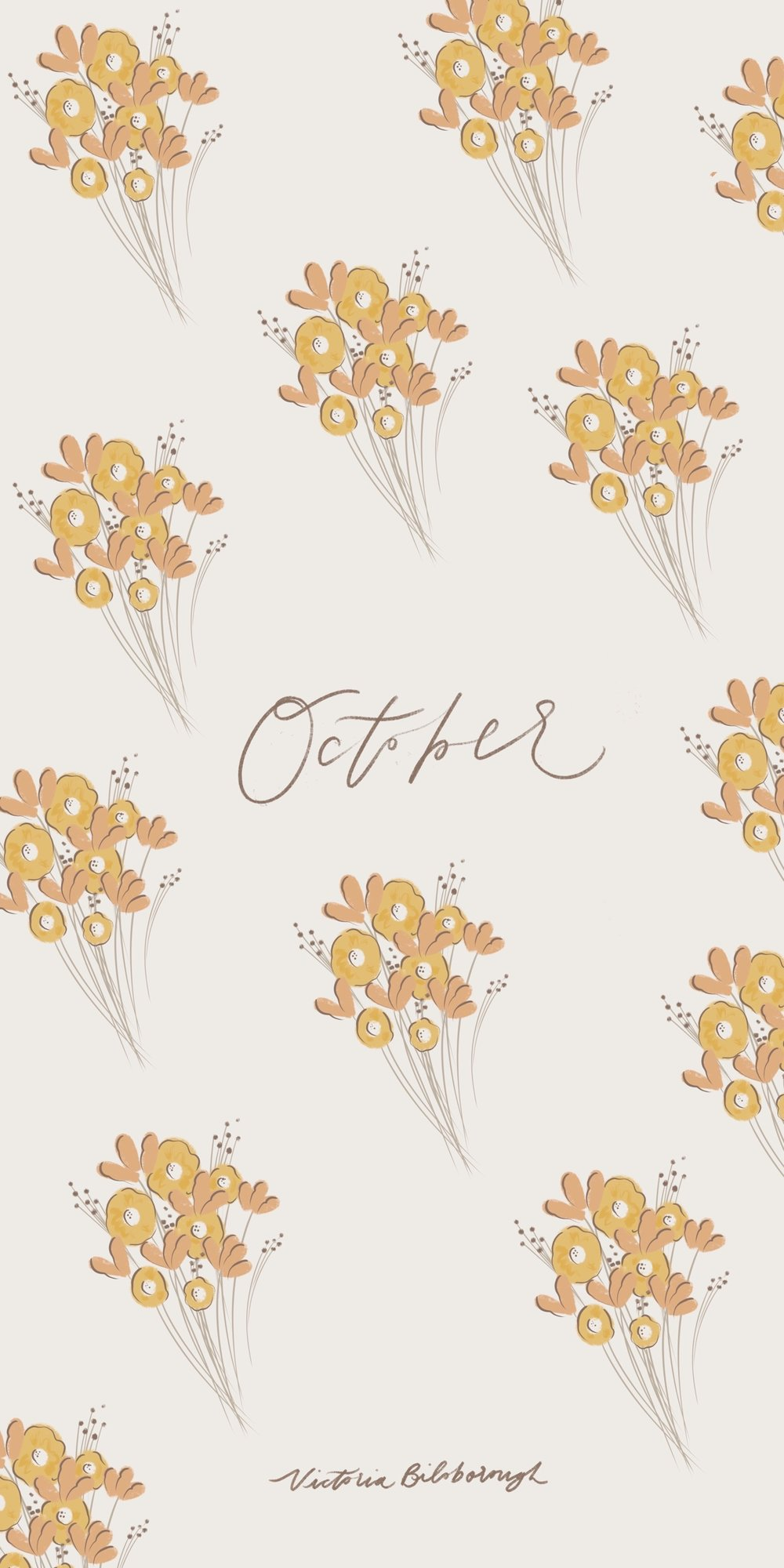 October 2019 Free Wallpapers — Victoria Bilsborough