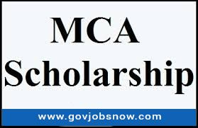 Check Out Latest Mca Scholarship Notification And Download Mca