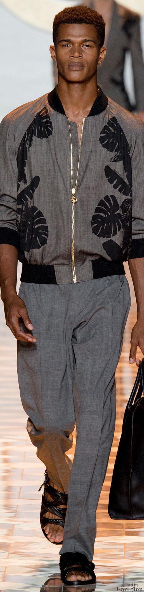 Versace Spring 2015 Menswear