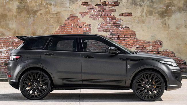 Kahn Shows Volcanic Grey Range Rover Evoque Rs Sport Range Rovers