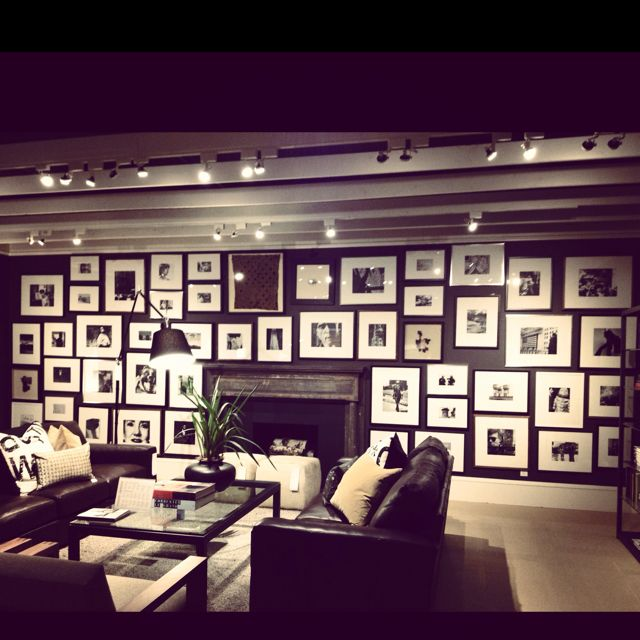 Frame Collage Inspiration At Room And Board Interiors Pinterest