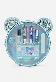 blue sparkle critter beauty kit  makeup kit girls makeup