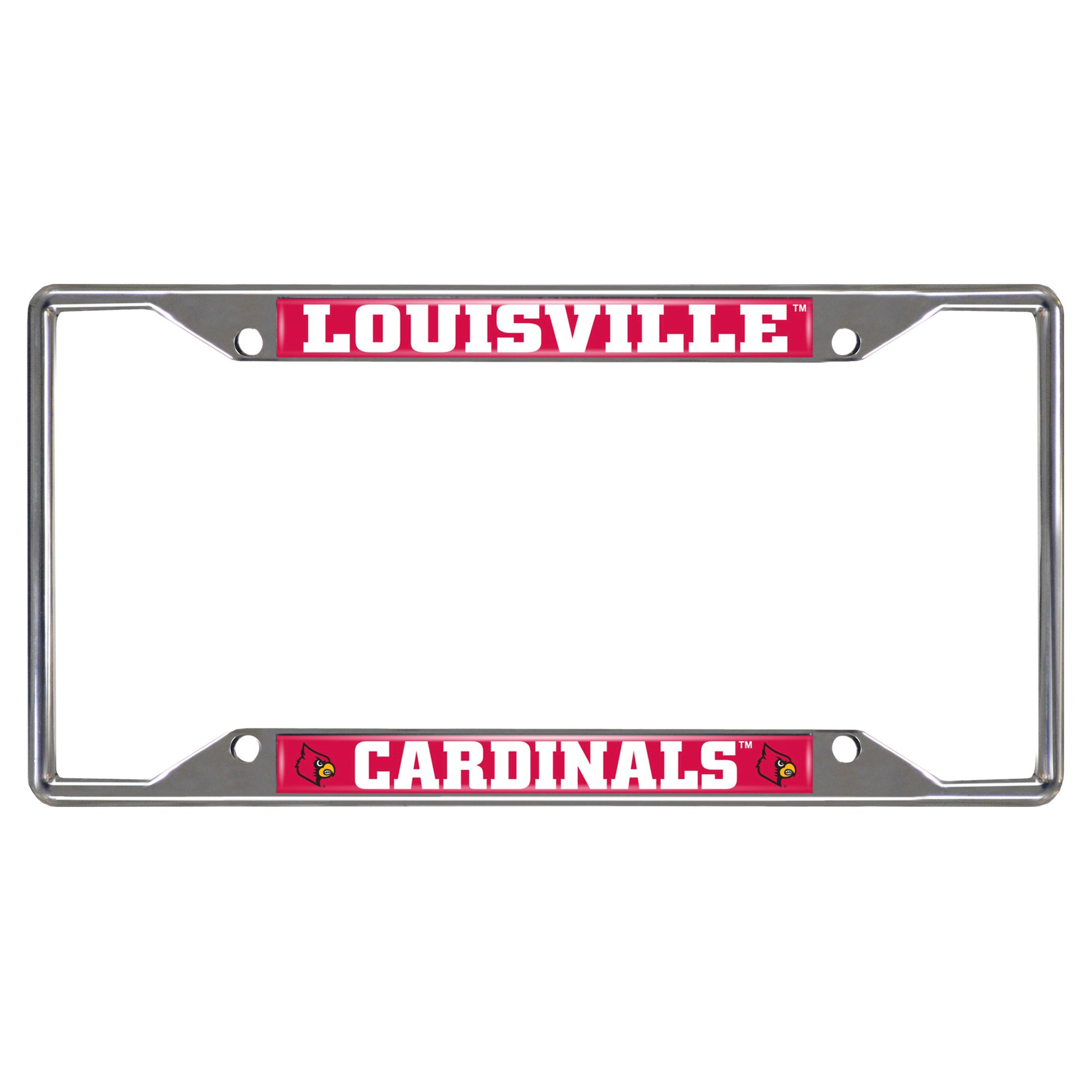 NCAA License Plate Frame University of Louisville | License plate ...