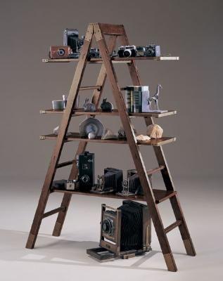 My Office Book Shelf Ed Bauer Lakeridge Ladder