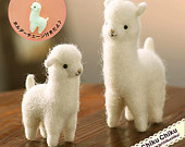 Kawaii Japan Craft Needle Felting Kit : Alpacas https://www.etsy.com/listing/183765264/kawaii-japan-craft-needle-felting-kit?ref=shop_home_active_15