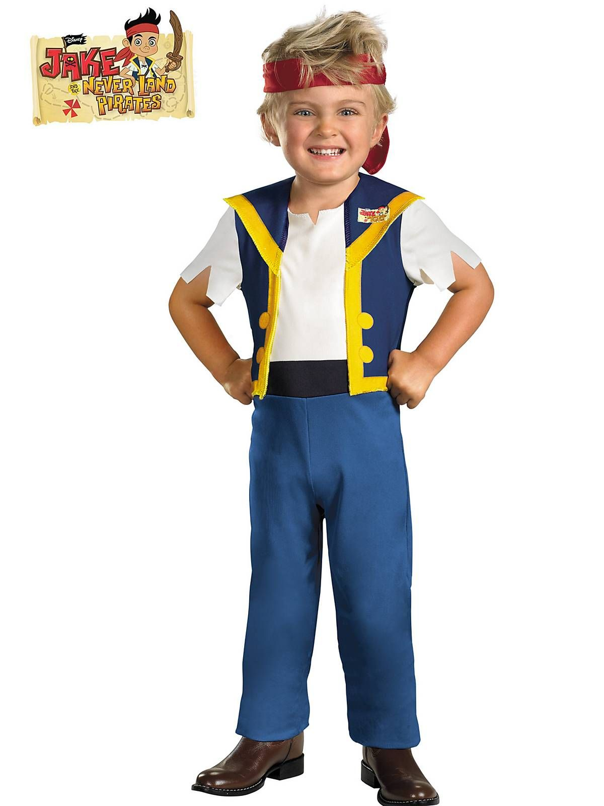 Disney Costume Ideas Jake And The Neverland Pirates Jake Deluxe Costume Toddler
