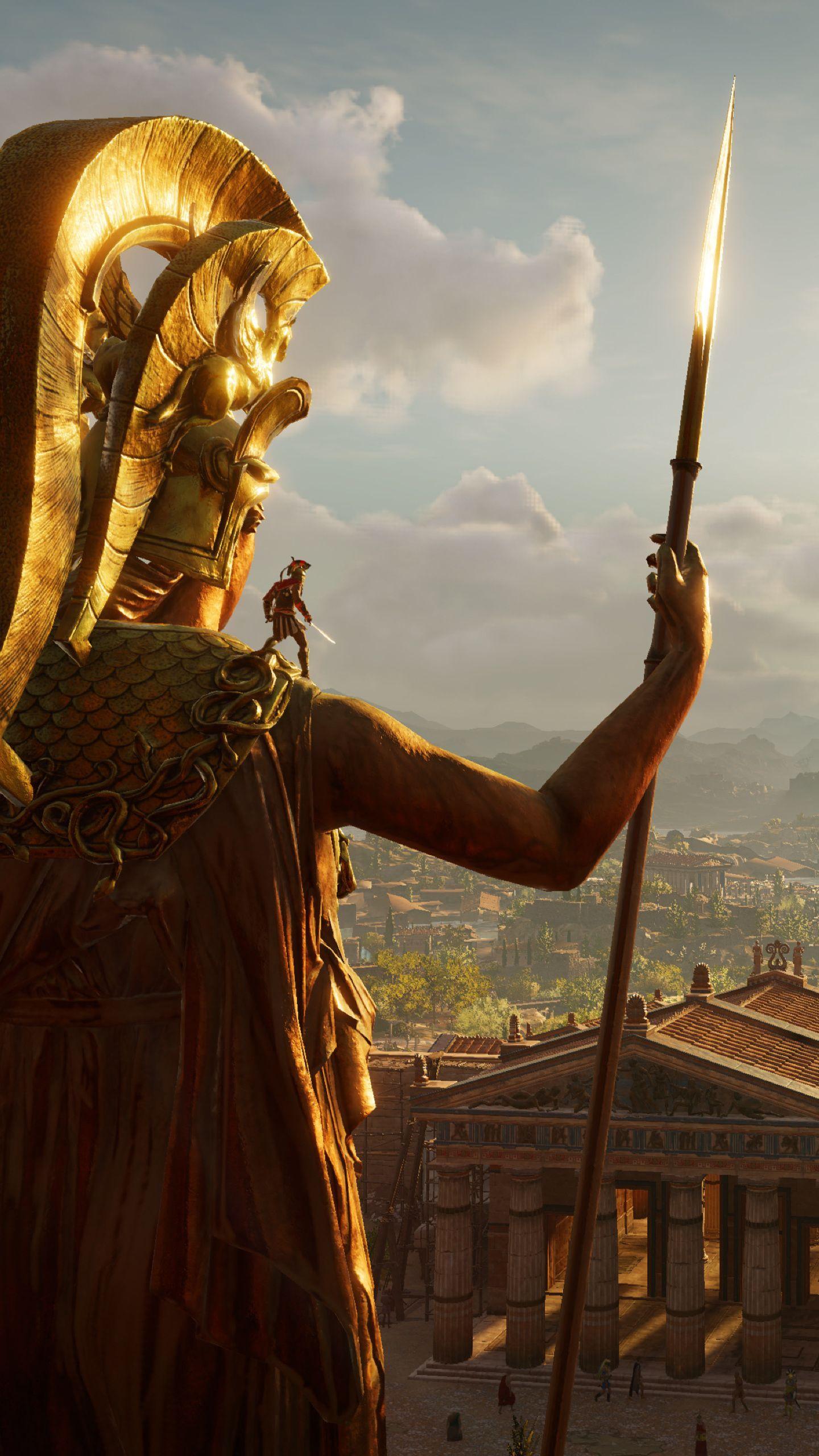 Download Assassin S Creed Odyssey 1440x2560 Resolution Hd 4k Wallpaper Assassins Creed Assassins Creed Odyssey Greek Warrior
