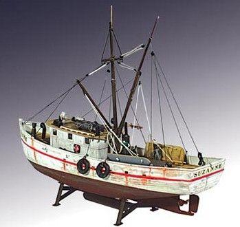 Lindberg 1 60 Scale Shrimp Boat Model Kit Barcos