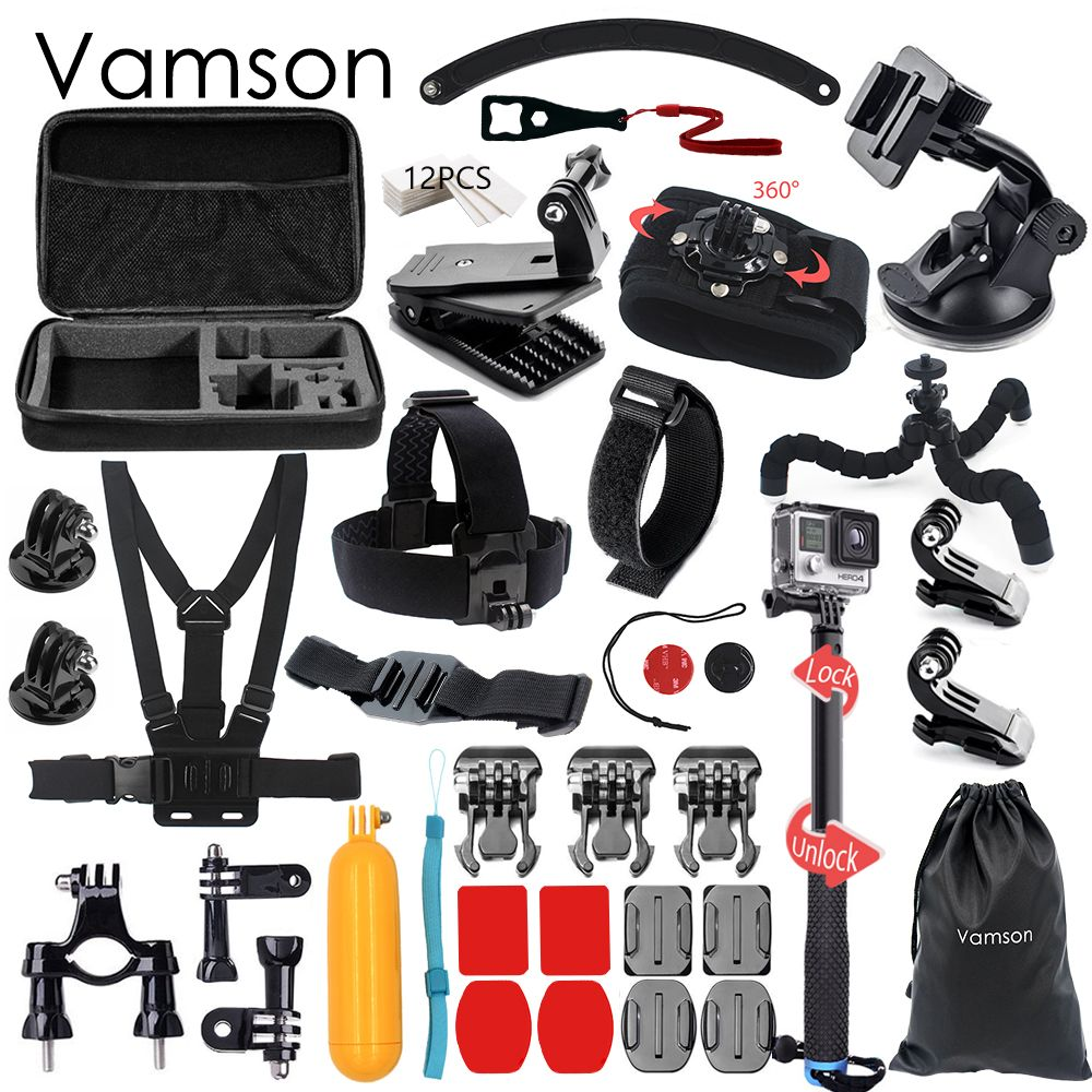 Click To Buy Vamson For Gopro Accessories Set Monopod Tripod Hero5 Free Acc Shorty Cheap Hero Quality Camera Yi Directly From China 4 Suppliers 5 3