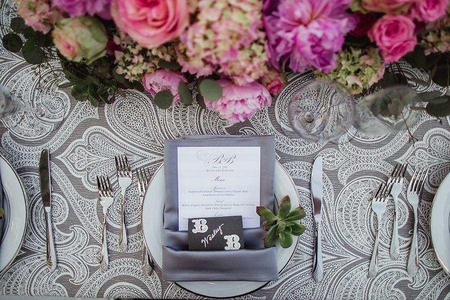 PeonyFilled Beverly Hills Wedding Wedding planning