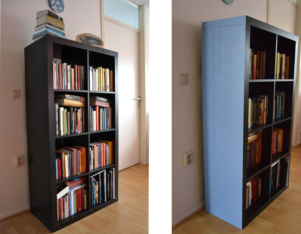 Bücherregal ikea braun  DIY: Expedit Regal lackieren | Hacks und Regale