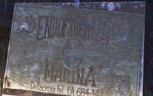 Delacroix Island La   Las inundaciones sufridas por los isleños canarios en 1927 y una ...