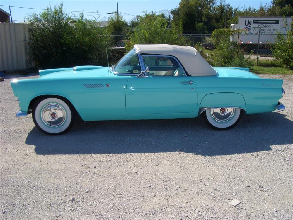 1955 FORD THUNDERBIRD CONVERTIBLE - Barrett-Jackson Auction Company ...