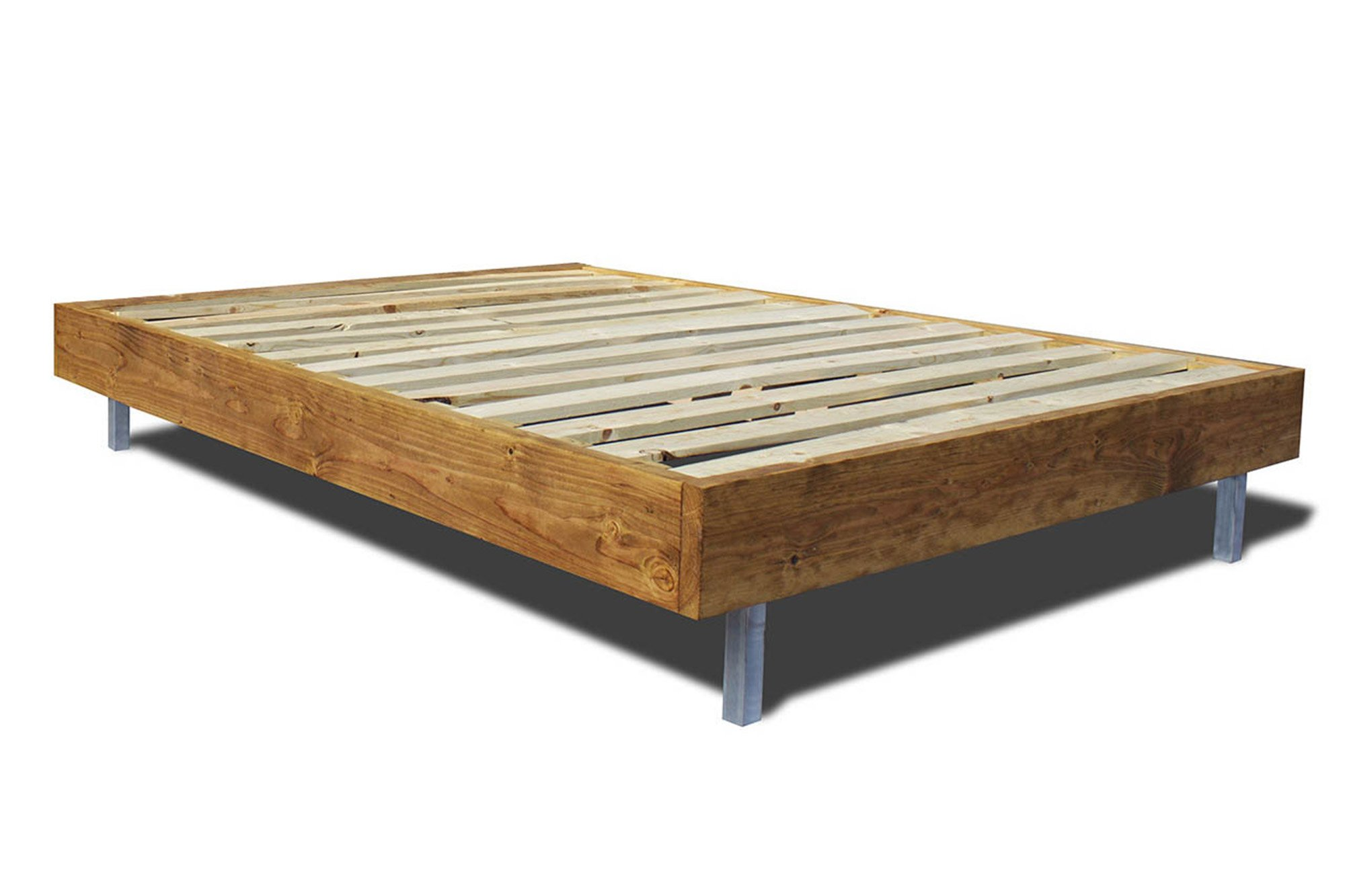 Strawberry Base Wood Platform Bed Wooden Bed Frames Diy
