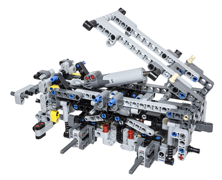 LEGO Technic Building Tip - Multiple Axle Differentials