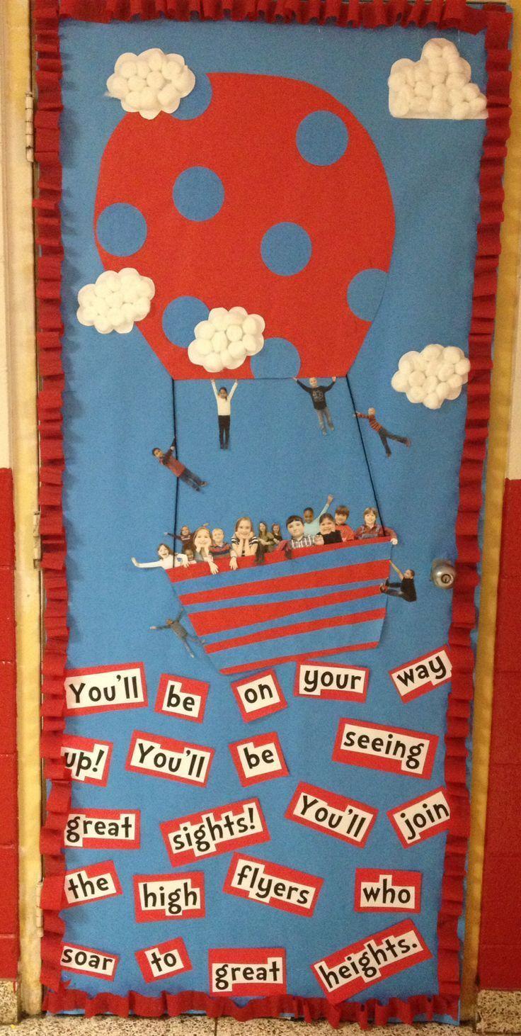 Dr. Seuss classroom door decoration | Bulletin Board Ideas ...