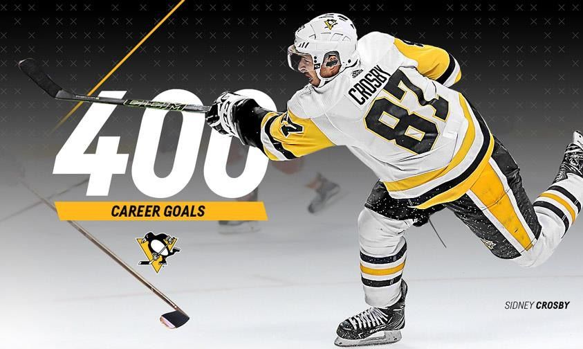 Sidney Crosby 400 Goals (With images) Pittsburgh
