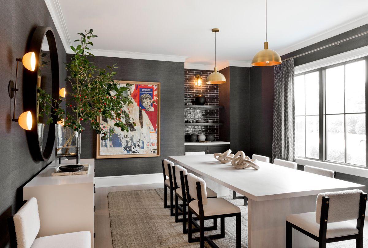 A Stunning Hamptons Home Tour Contemporary Beach House Dining