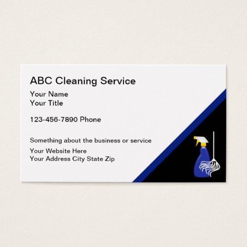Cleaning Service Business Cards Zazzle Com Cleaning Service Business Website Design Inspiration Website Design Inspiration Business