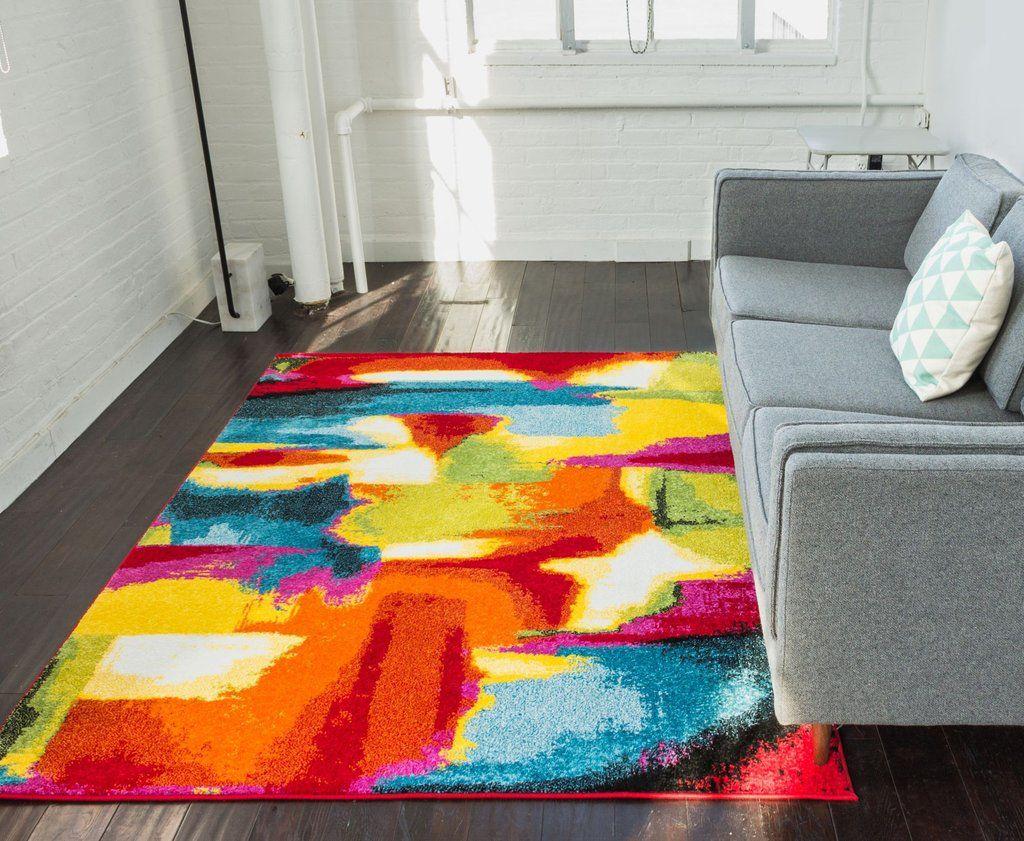 Interior Bright Multi Colored Area Rugs Stylish 50 Luxury Images