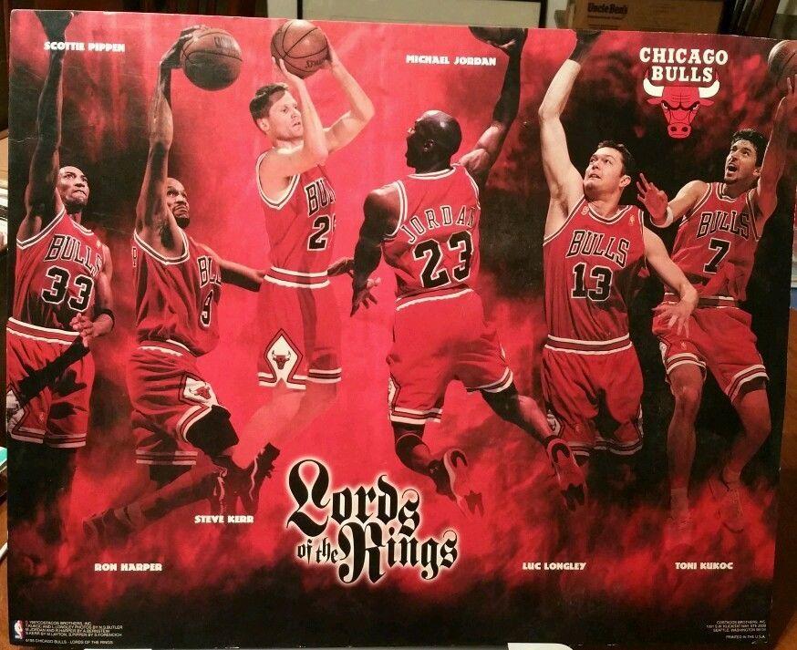 chicago bulls lords of the rings jordan