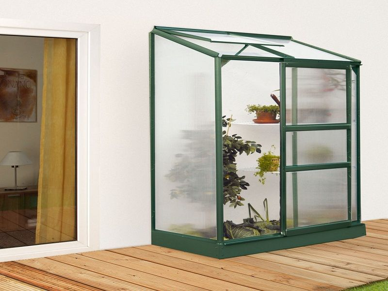 Das Kleine Gewachshaus Ida 900 Erhalten Sie Mit Hohlkammerplatten