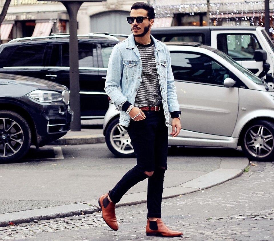 0f5aeefd72 Badr Daou - Jules Chelsea Boots, Zara Jeans, Jules Sweater, Lusine A  Lunettes Sunglasses - URBAN MOOD