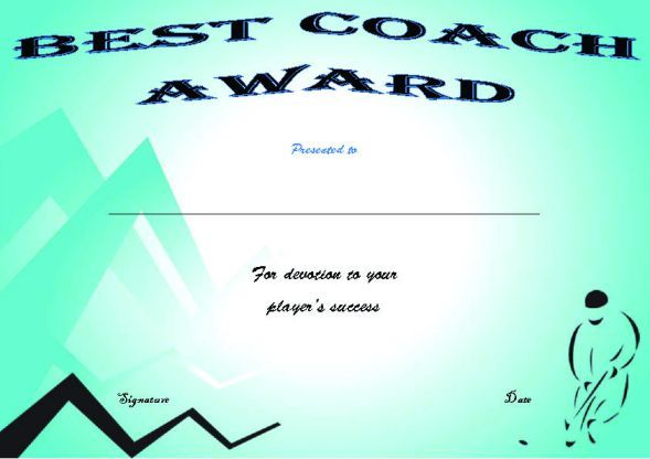 hockey certificate certificates printable templates professional demplates training youth players coach