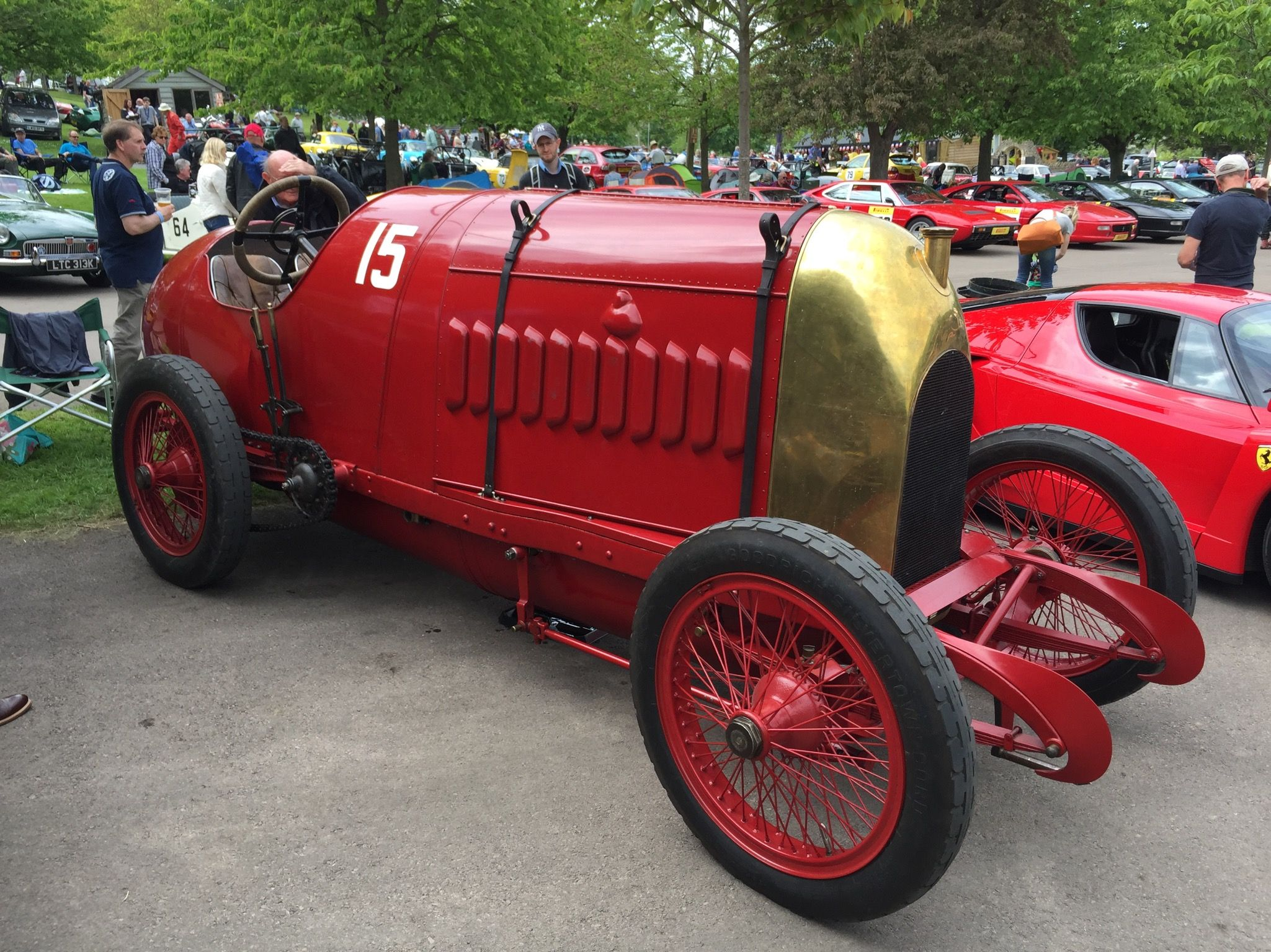 """1911 Fiat """"The Beast of Turin"""" at Prescott Hillclimb 2016"""