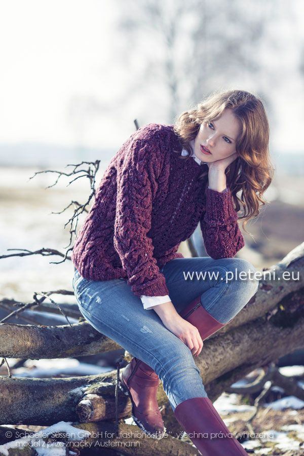 8a5ebdf39b73 dámský ručně pletený svetr z příze Irish Tweed