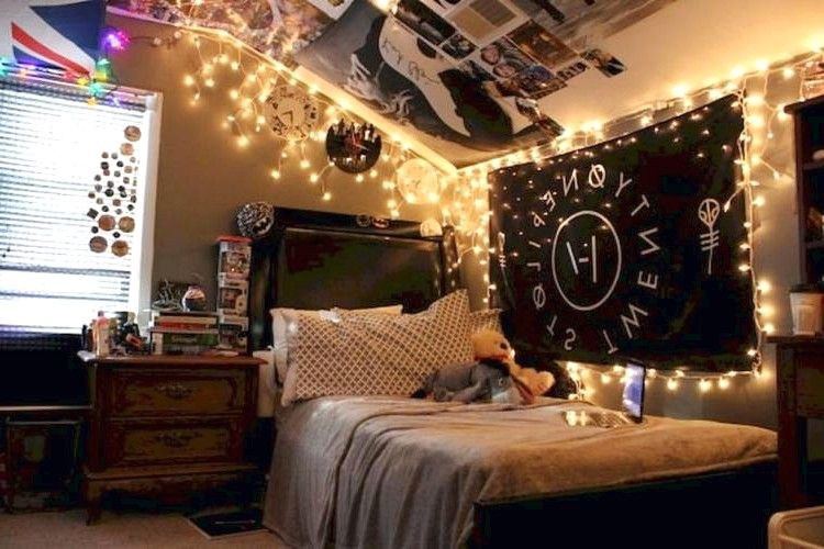 DIY Hipster Bedroom Decorations Ideas - Page 2 of 50 in 2019 ...