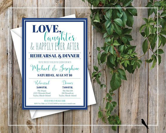 Printable Rehearsal Dinner Invitation Wedding Rehearsal About - printable dinner invitations